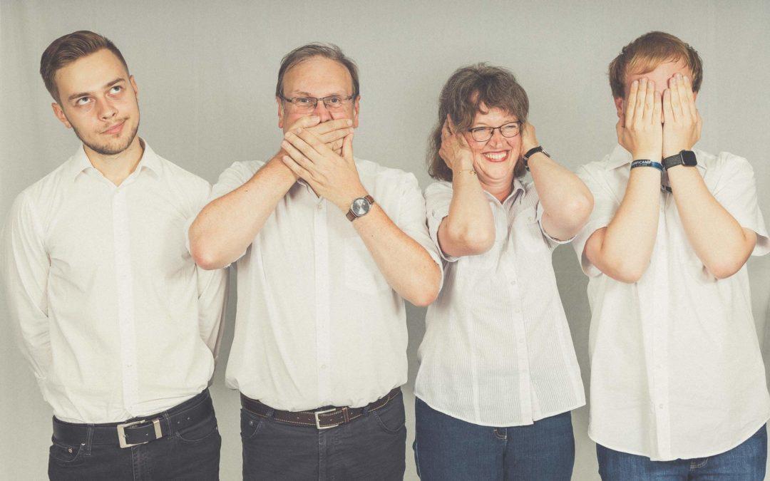 Familien-Foto-Freuden